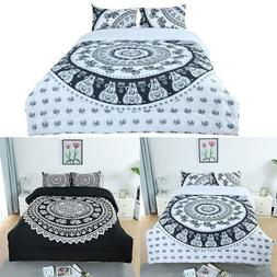 Full/Queen/King All-season Comforter Sets Bohemian Style, wi