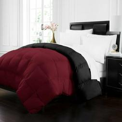 Full/Queen Size Quilted Comforter - Box Stitched Down Altern