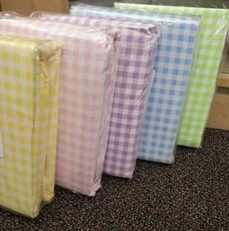 Company Store Gingham percale Duvet Covers Or Bed Sheet Yell