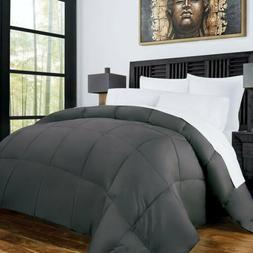 Goose Reversible Down Alternative Comforter Twin Full Queen