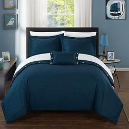 Chic Home 4 Piece Hartford 200 Thread Count Combed Finish 10