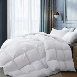 High Quality Goose Down Comforter 100% Egyptian Cotton 1200T