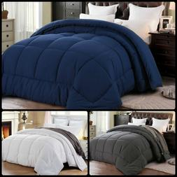 Home Luxury All Season Goose Down Alternative Quilted Corner