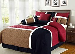 home over special patchwork comforter