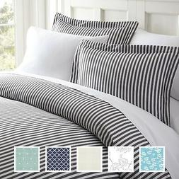Hotel Quality 3-Piece Ultra Soft Patterned Duvet Cover Sets