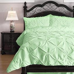 ExceptionalSheets Queen Size Comforter Set - 3 Piece Down Al