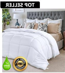 Hypoallergenic Down Alternative Comforter Duvet Insert White