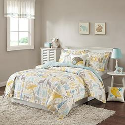 INK+IVY Kids Woodland Full/Queen Kids Bedding Sets - Yellow