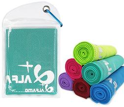 "Instant Cooling Towel, 47""x14"" Extra Large As Scarf - Ultra"