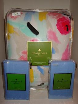 kate spade paintball floral full queen comforter