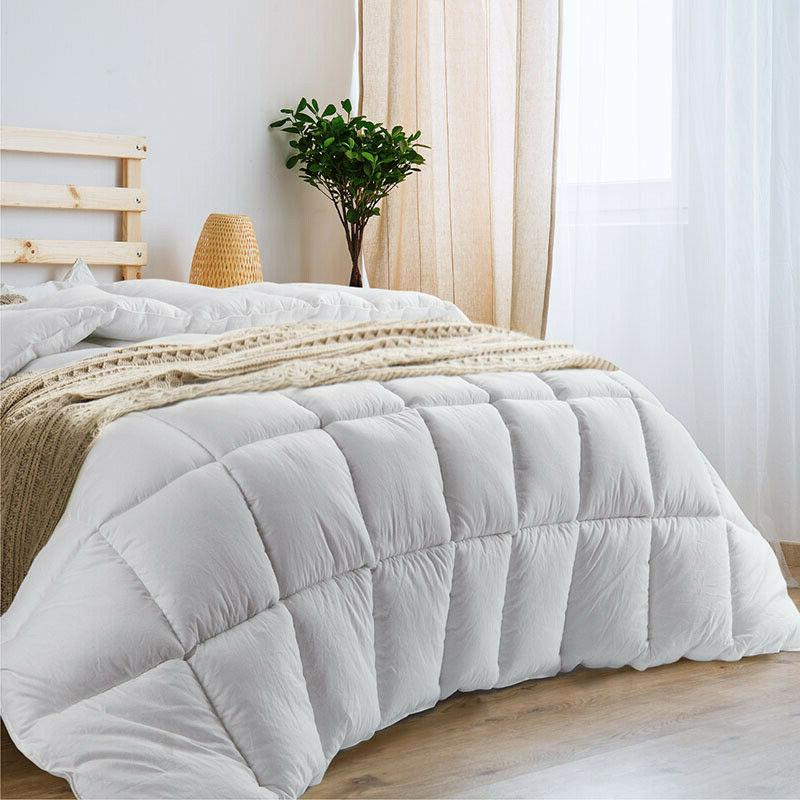 100 percent cotton duvet insert all season