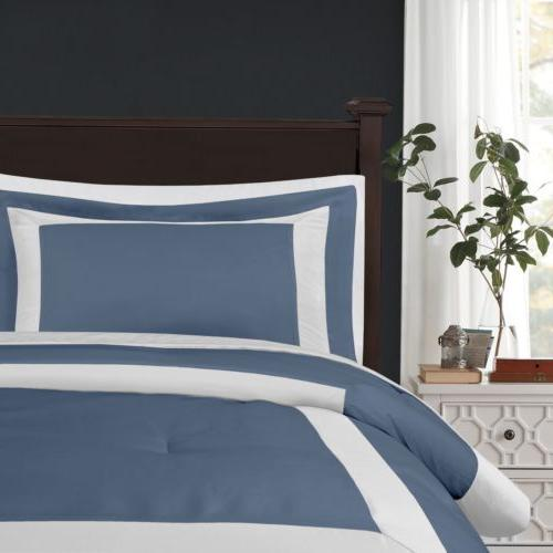Chezmoi Collection Hotel style Comforter Set