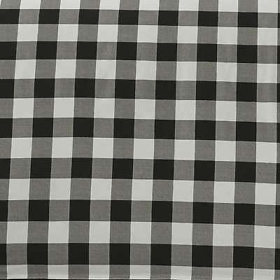 3 Bauer Queen/ Full Size Bed Set Plaid White/ Blk