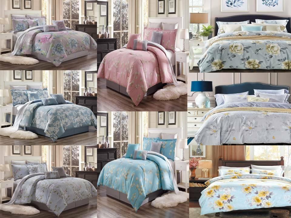 3PC LUXURY SUPER SOFT DUVET COVER SET FOR COMFORTER BED FLOR