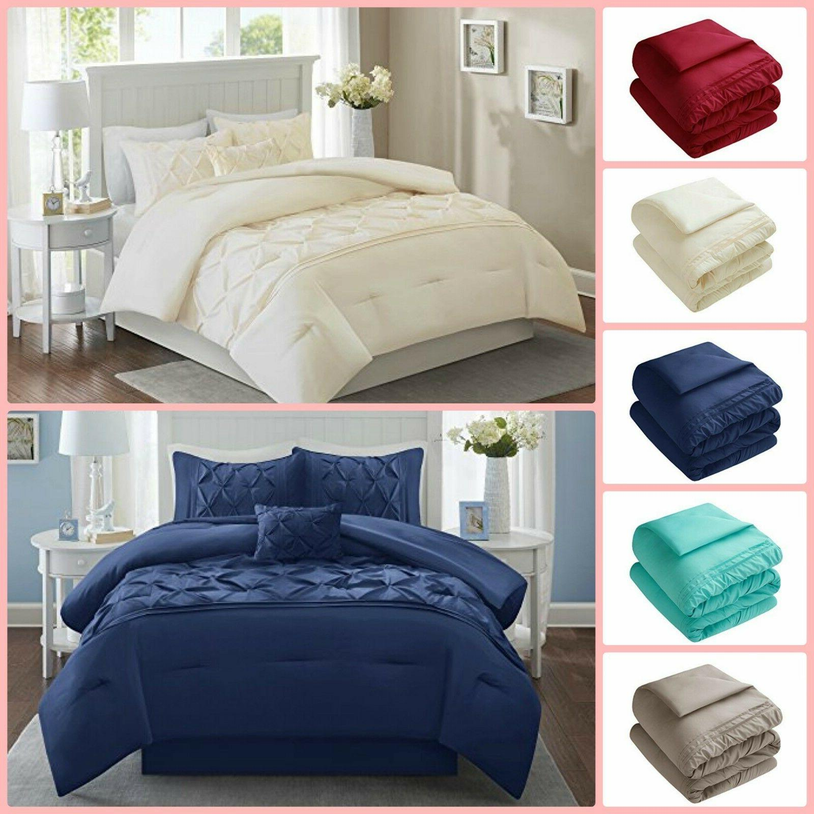 5 piece comforter set queen king full