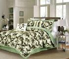 Chezmoi Collection 6pc Tropical Palm Tree Camouflage Comfort