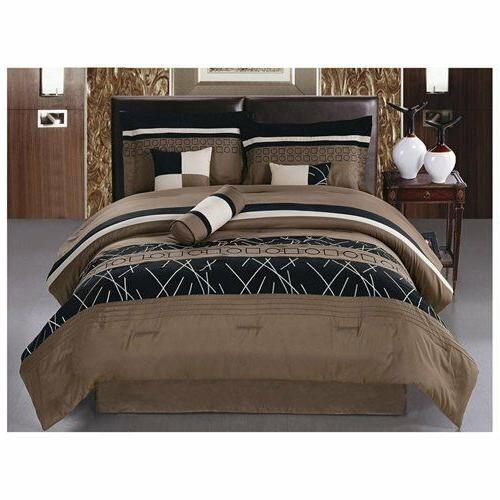 7pcs collection bed in bag embroidery microfiber