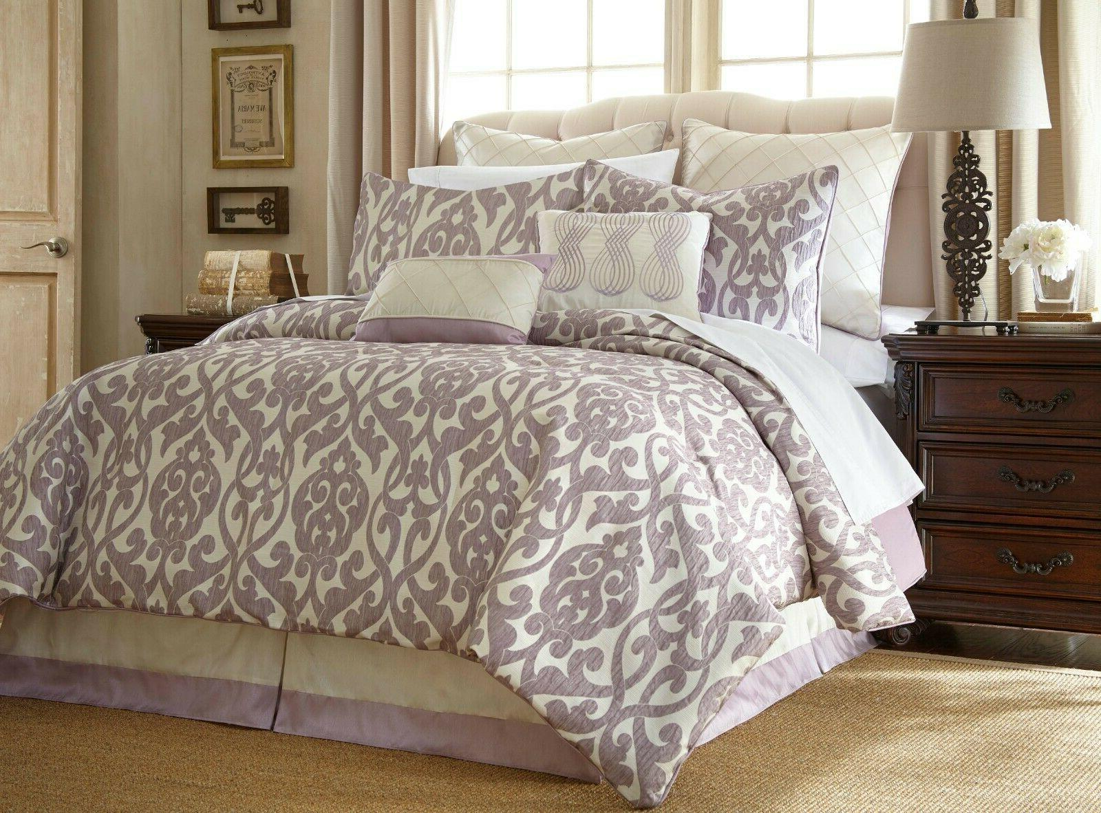 8 Piece Bedding Soft Over Sized QUEEN/KING Size Gift