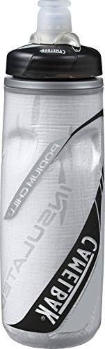 CamelBak Products Podium Chill Water Bottle, Carbon, 21-Ounc