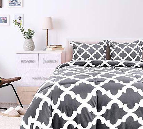 Utopia Bedding Set with Shams - Luxurious Brushed Microfiber - Down Alternative Comforter - Washable