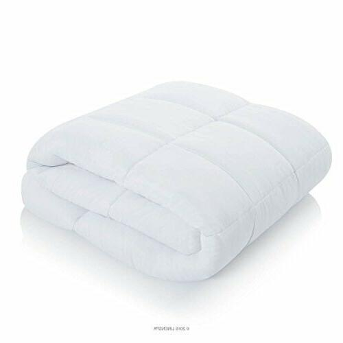 Linenspa All-Season Alternative Quilted Comforter - Hypoallergenic - Plush