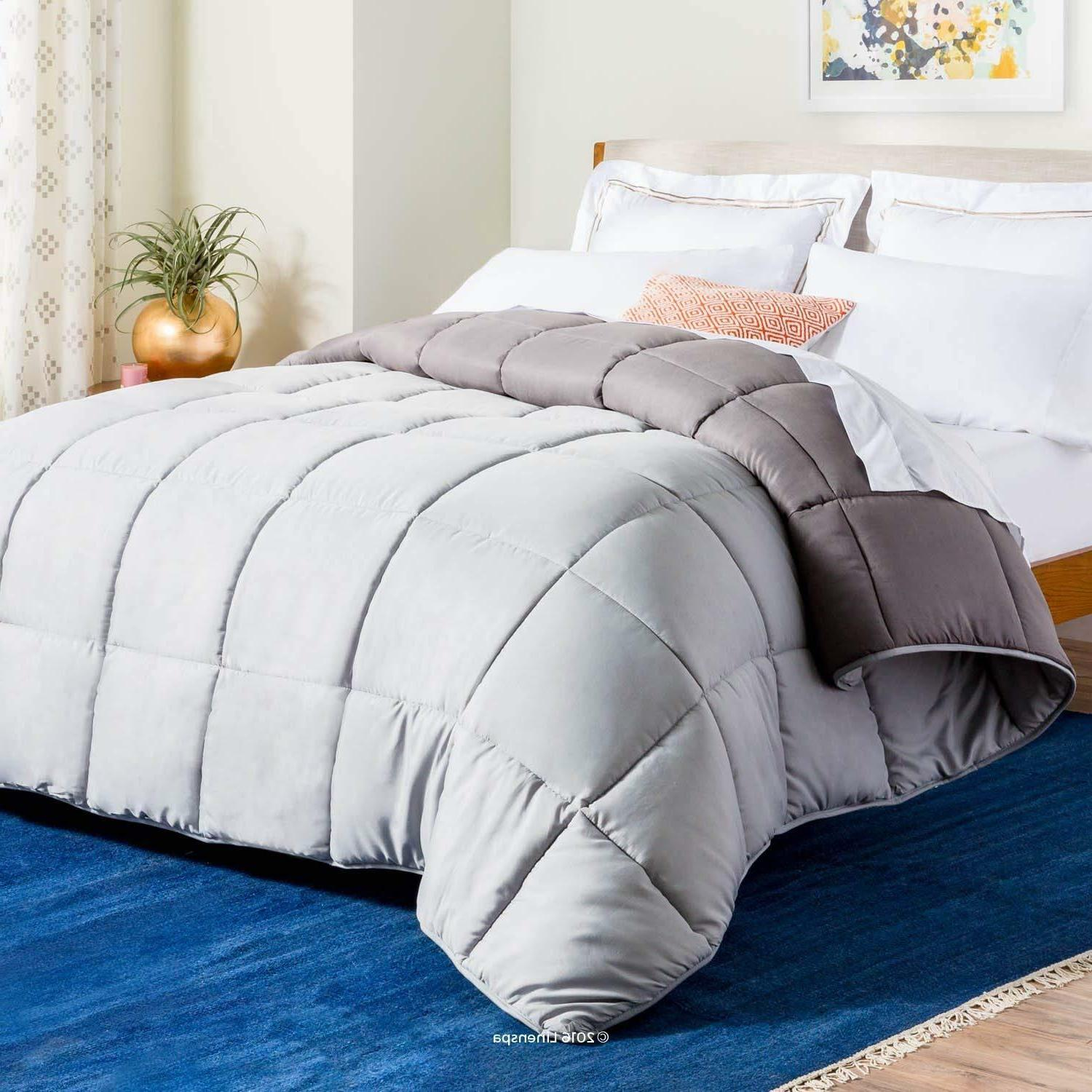 All-Season Reversible Down Alternative Quilted Comforter Mac
