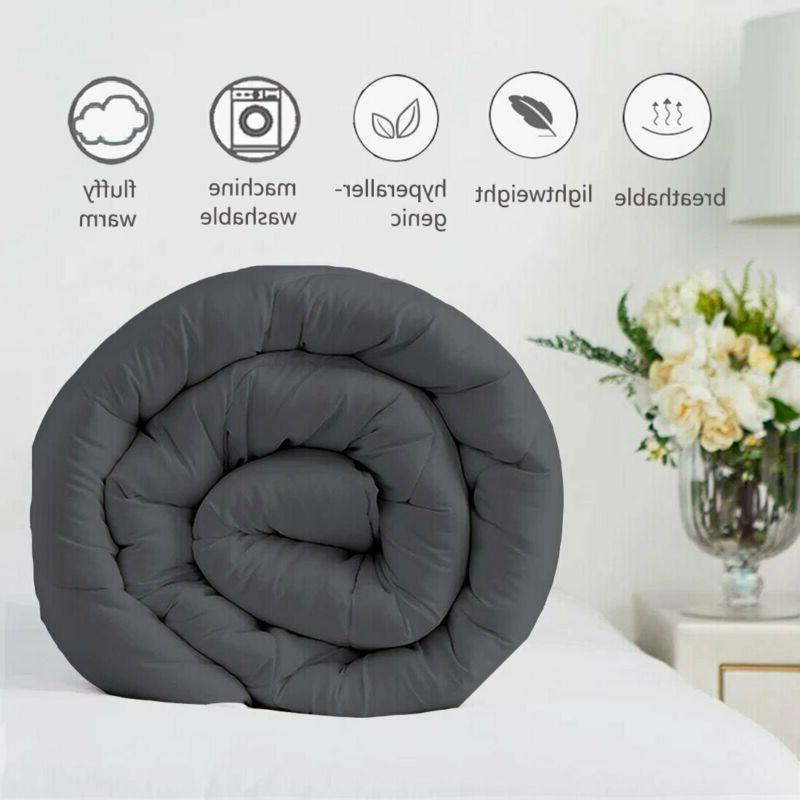Easeland All Season King Soft Quilted Comforter