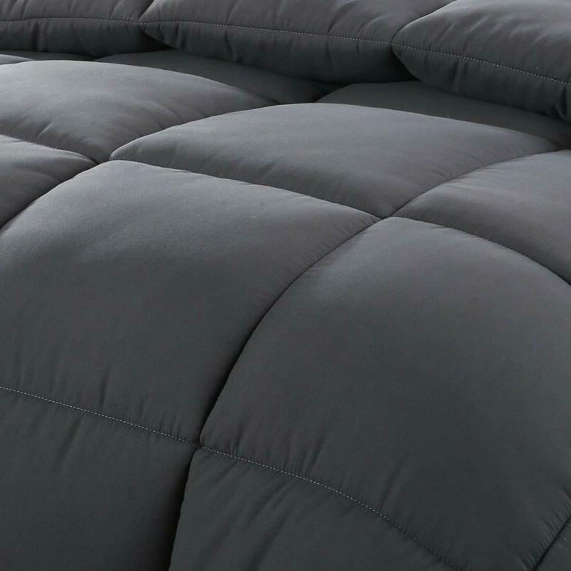 Easeland All Season King Soft Quilted Down Comforter