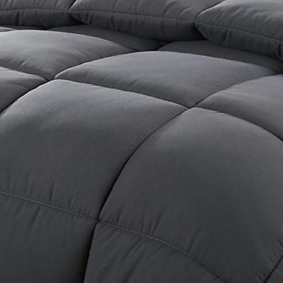 EASELAND Queen/Full Soft Quilted Alternative Comforter