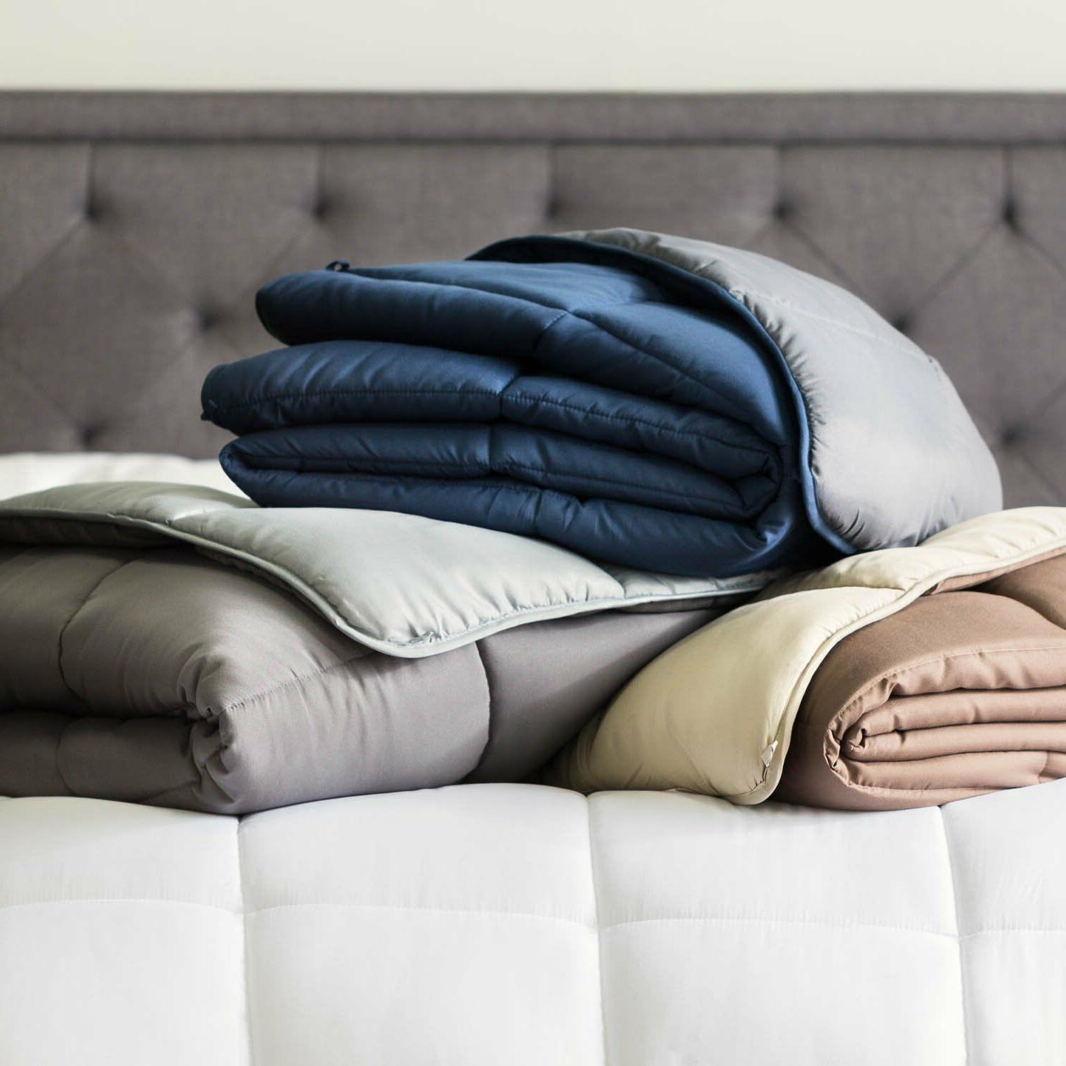 All-Season Reversible Quilted - Plush Microfiber