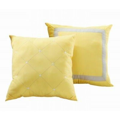 CHIC VERMONT YELLOW PIECE SET KING,QUEEN