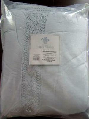 Simply Chic LINEN Full COMFORTER 3pc SET Lace