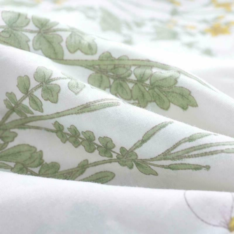 Botanical Comforter Cotton Microfiber Bedding