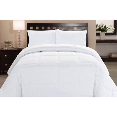 box stitch polyester down alternative comforter by