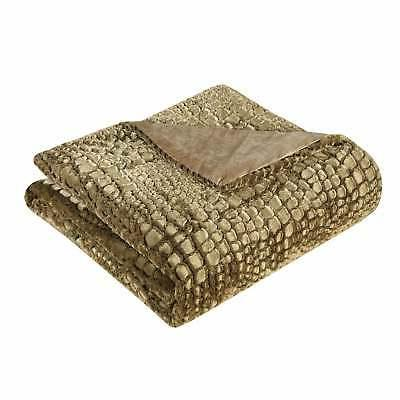 Chic Home Gold Faux Fur Queen 7-piece Comforter
