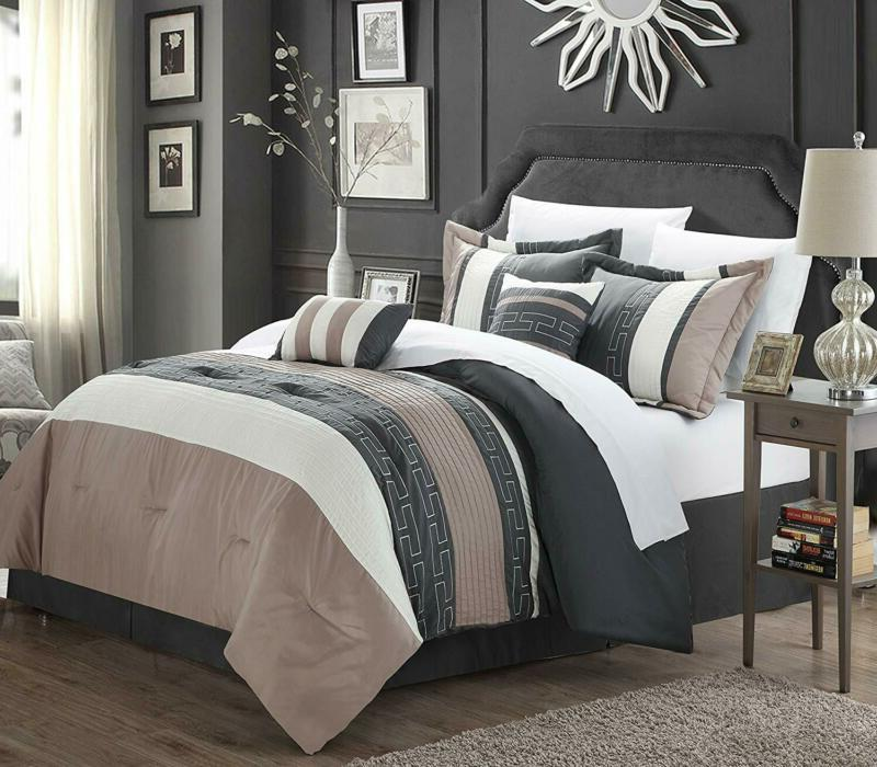 carlton 6 piece comforter set king size
