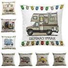 chic home decor ornate happy campers sofa