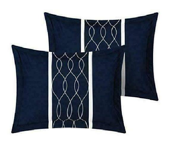 Chic Home Piece Bed Bag Blue,