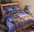 COLD SNAP NATURE DEER THEMED COMFORTER SHAM DECORATIVE PILLO