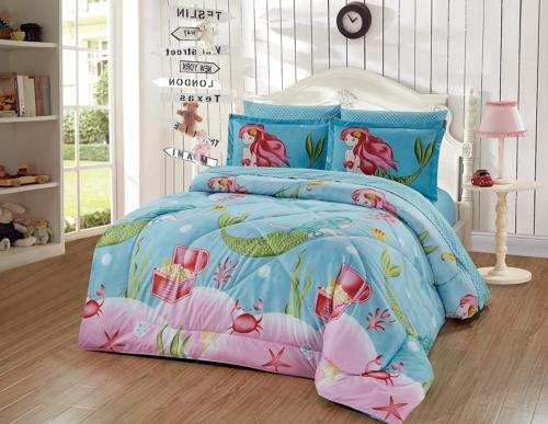 Luxury Home Collection Kids/Teens/Girls 5 Piece Twin Size Co