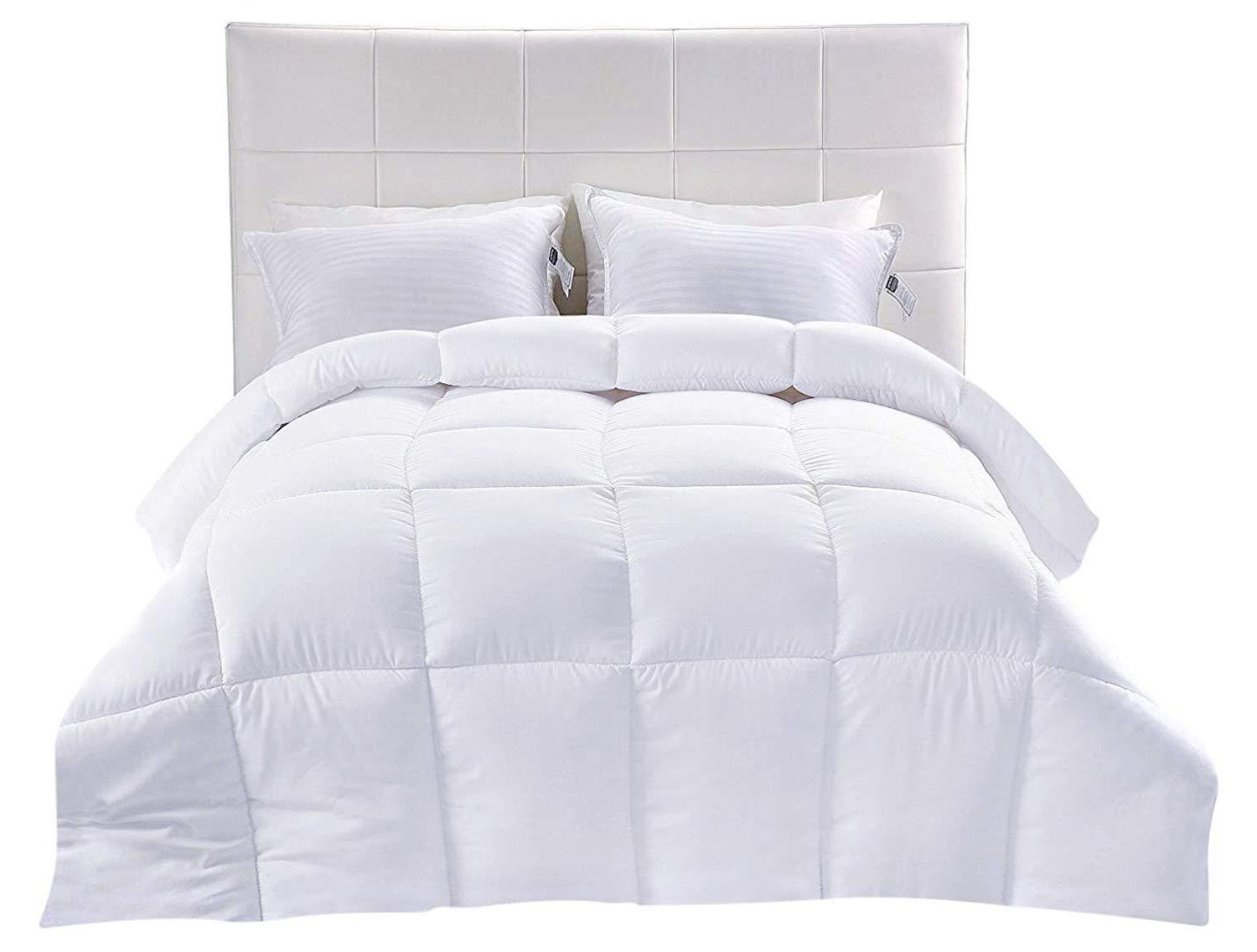 Comforter Alternative White All Season In Box