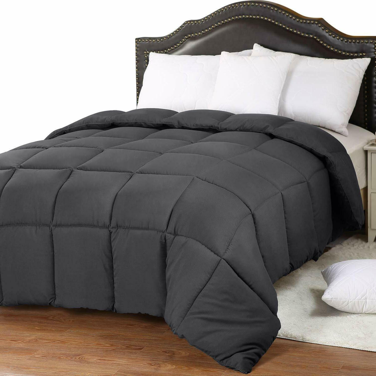 comforter down alternative white all season duvet
