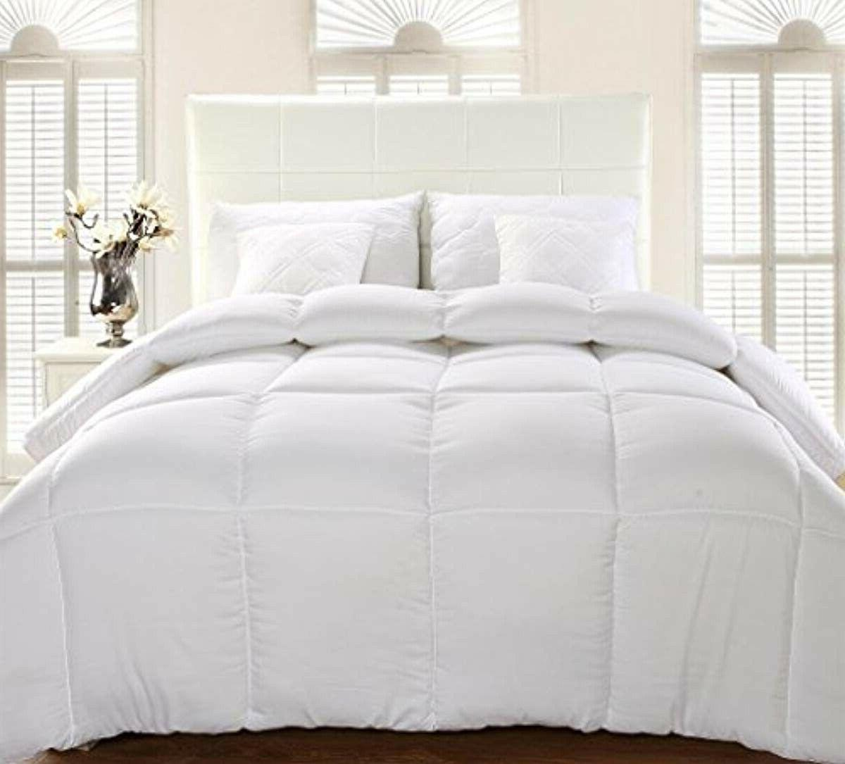 Utopia Comforter Insert Quilted with Tabs Hyp