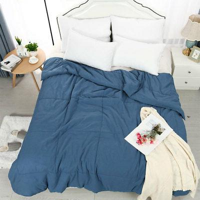 Comforter Quilt 100% Polyester Reversible