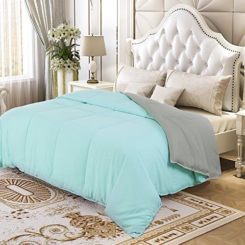 comforter set queen reversible down
