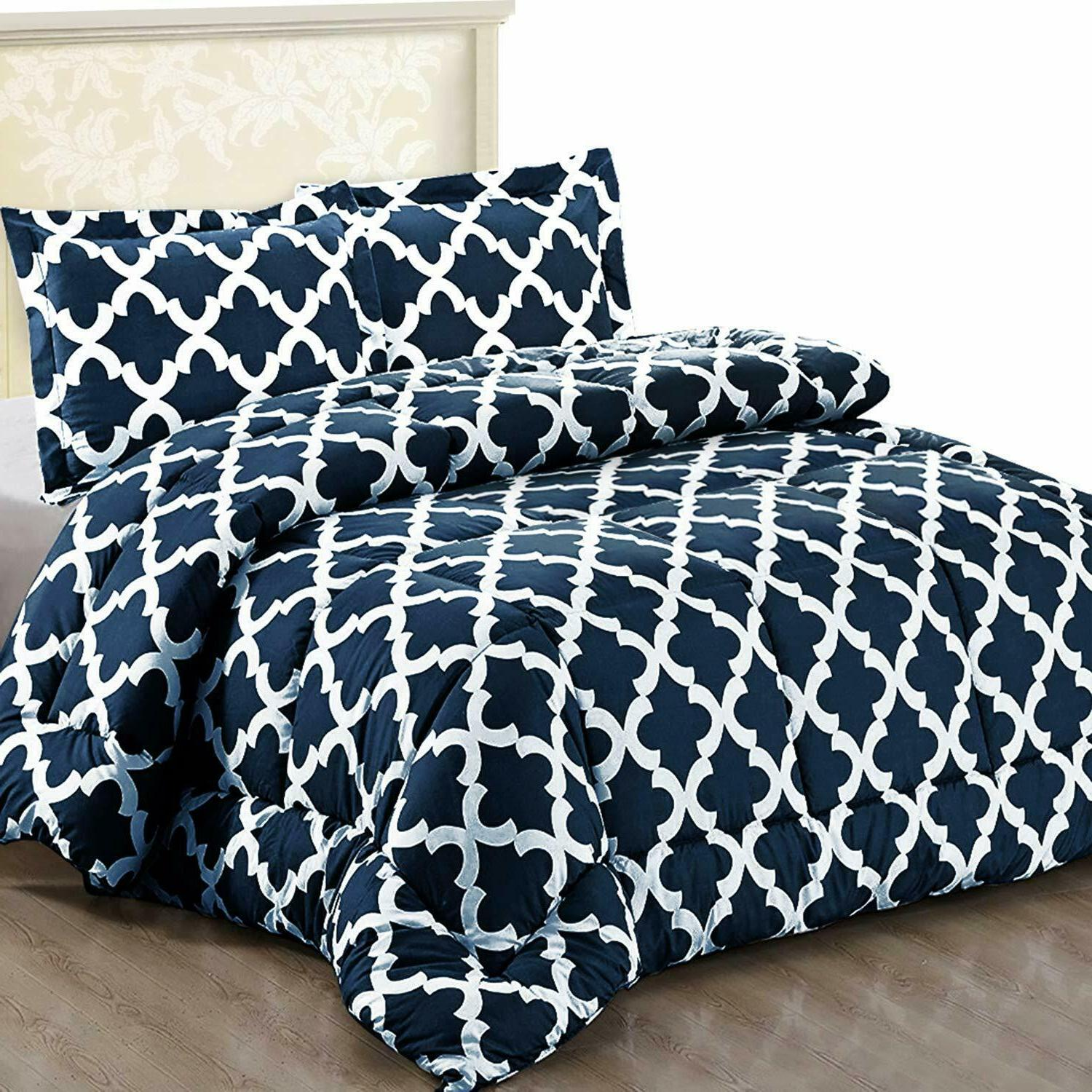 Printed Comforter Set 2 Microfiber by Bedding