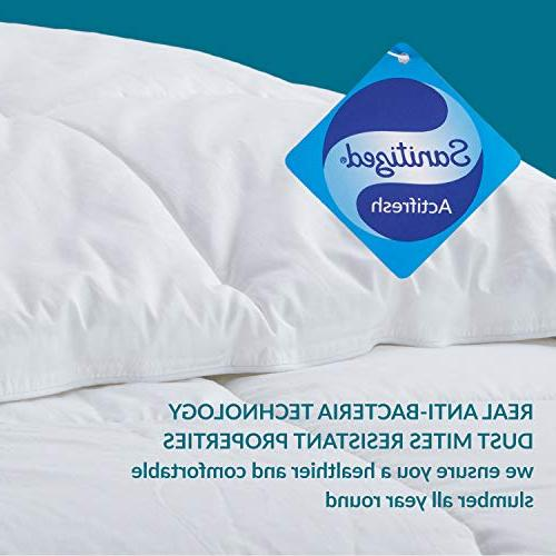 Bedsure Comforter Quilted Insert Full Technology & Breathable Piece Alternative Microfiber Machine Washable