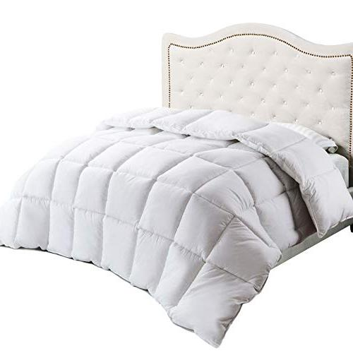 cotton white comforter quilted insert