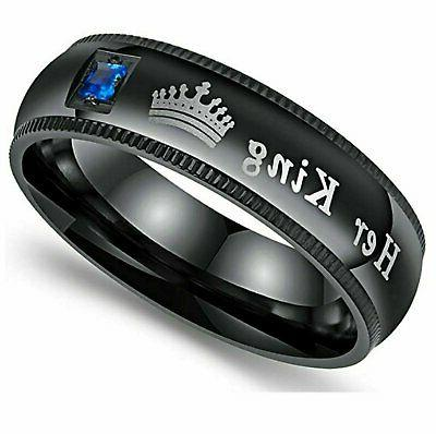 Couple's Queen Her Wedding Fit Ring