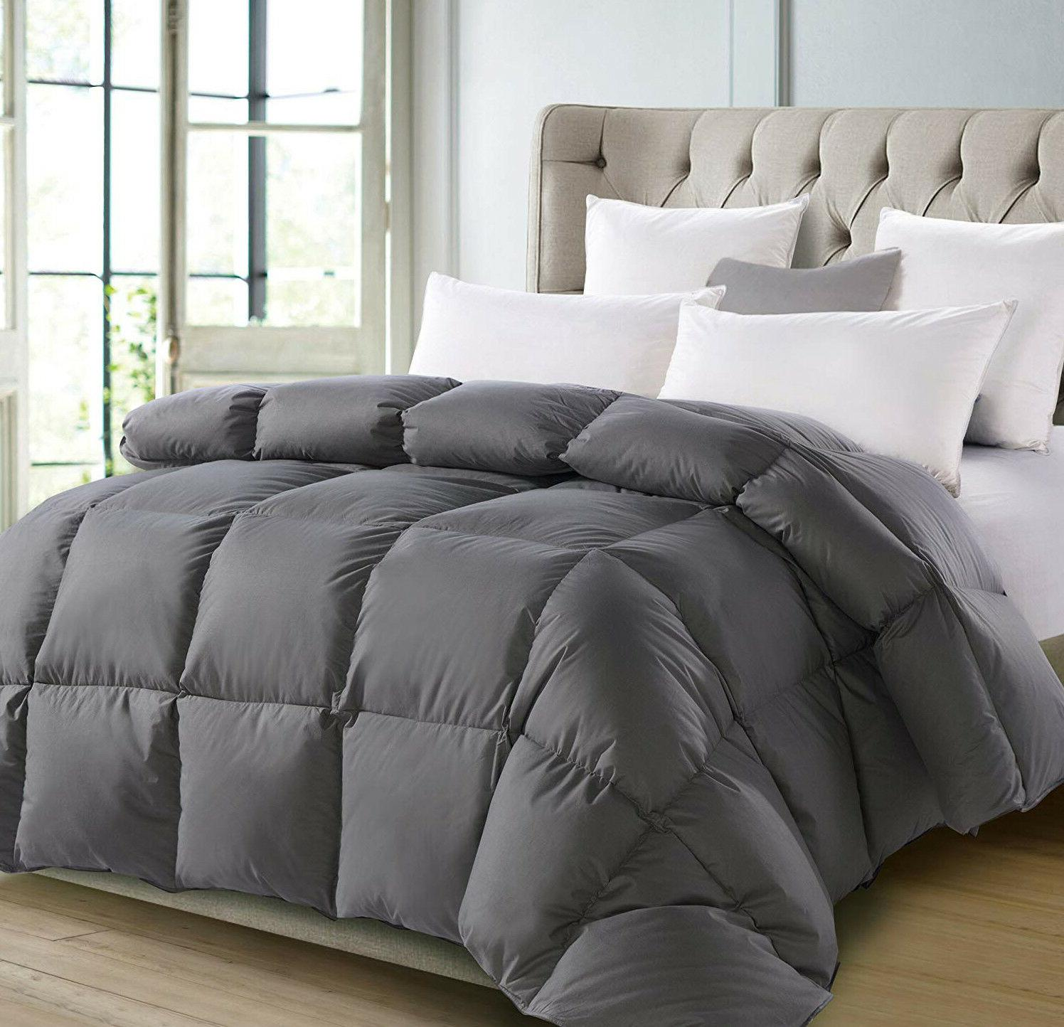 Deluxe TC Down Comforter Cotton, Down-like